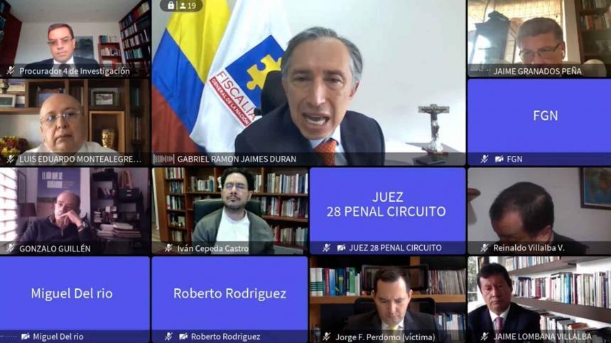 Fiscalía y Procuraduría piden no reconocer a víctimas en caso Uribe