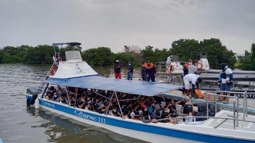 Embarcaciones en Coveñas movilizaron a más de 11 mil turistas