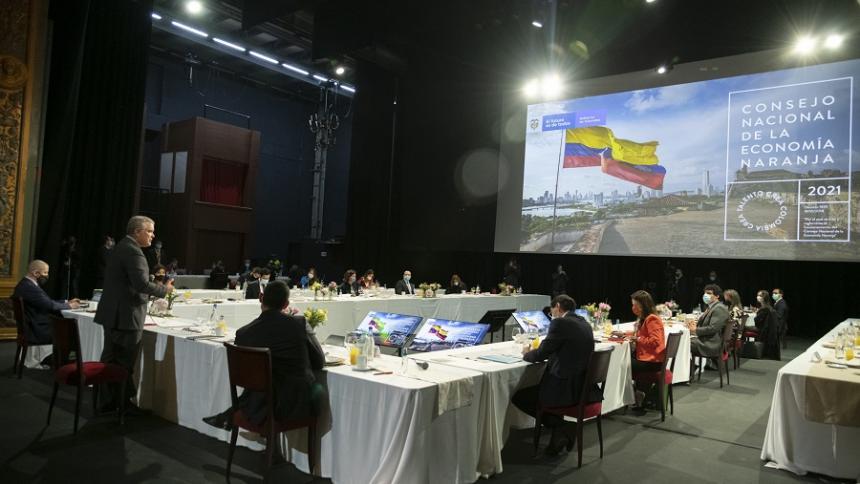 Inversión para el sector cultural y creativo en Colombia