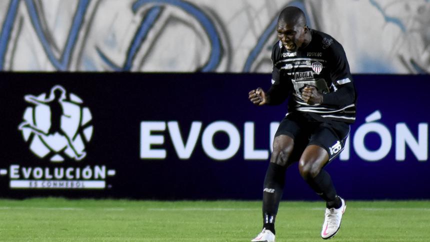 Los goles de Bolívar-Junior en la Copa Libertadores