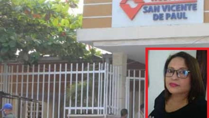 Fallece jefe de enfermería de Lorica por causas asociadas al coronavirus