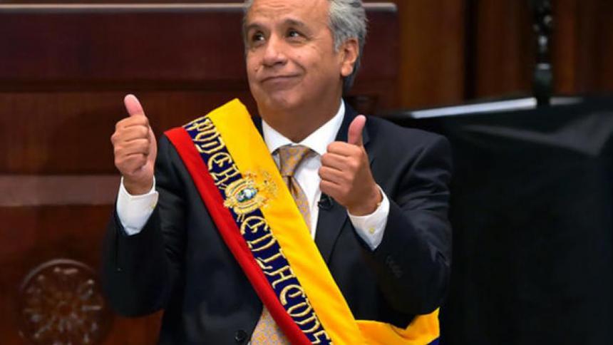 """Presidente de Ecuador, Lenín Moreno, llamó """"gordita"""" a una mujer"""