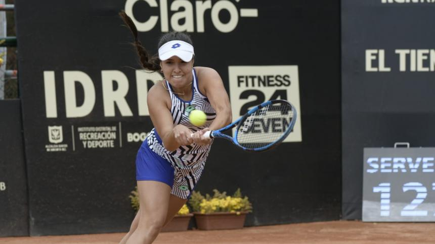 María Camila Osorio se instala en cuartos del Torneo WTA de Bogotá