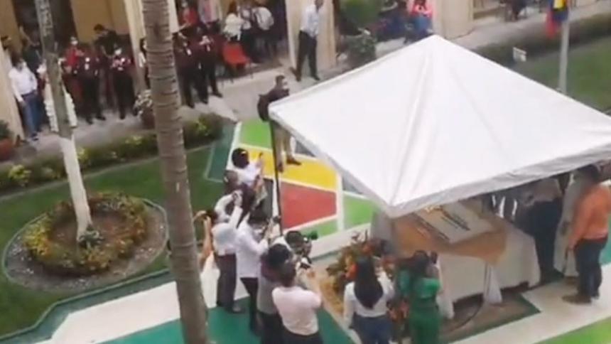 Fiesta de Gobernador de Santander en pandemia