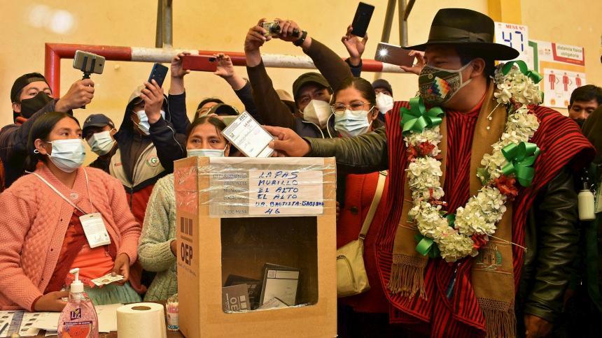 Bolivia cerró el calendario electoral más complejo de su historia reciente