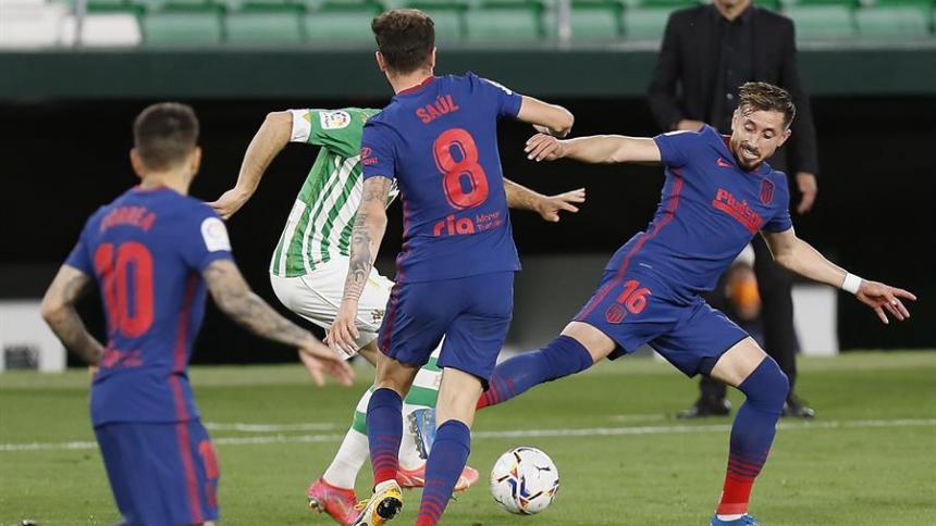 Atlético de Madrid empató ante el Betis