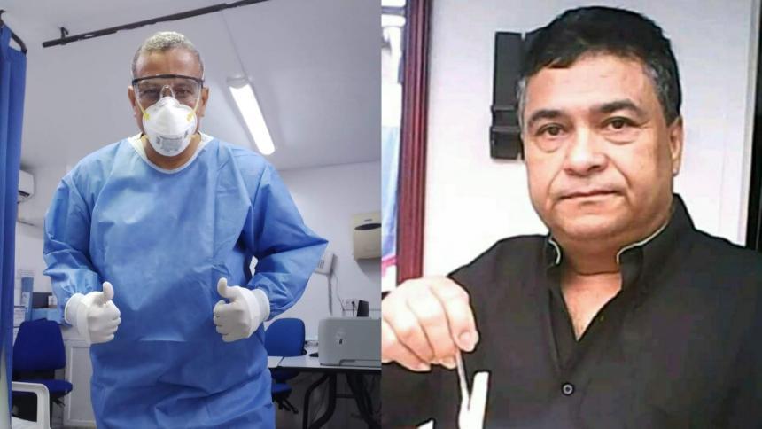 Mueren dos médicos por covid-19 en Barranquilla