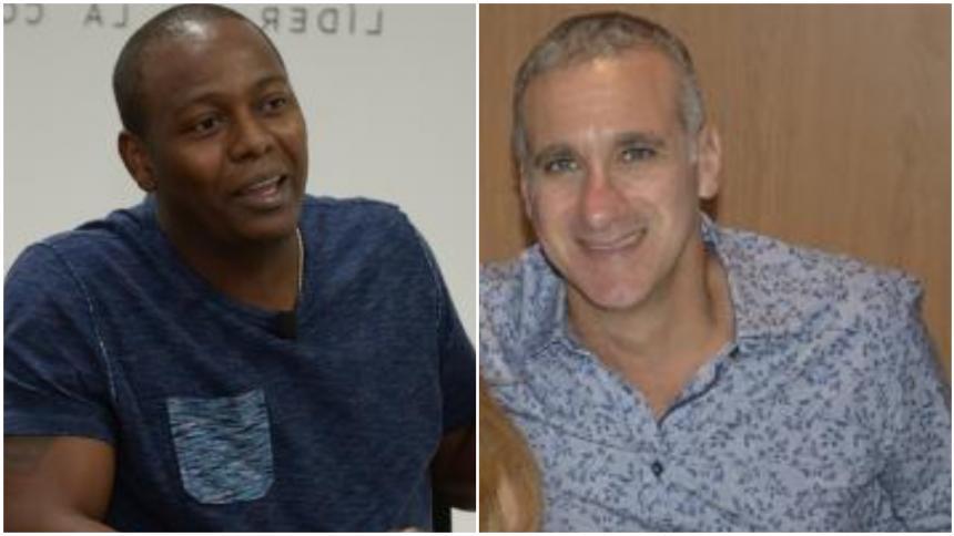 Mauricio Char presidente Fedebéisbol y Édgar Rentería, vicepresidente
