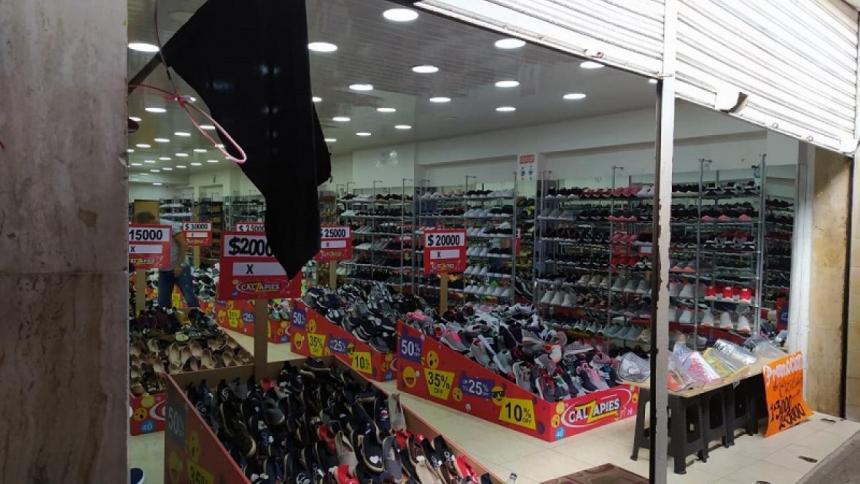 Comerciantes preocupado por ventas en abril