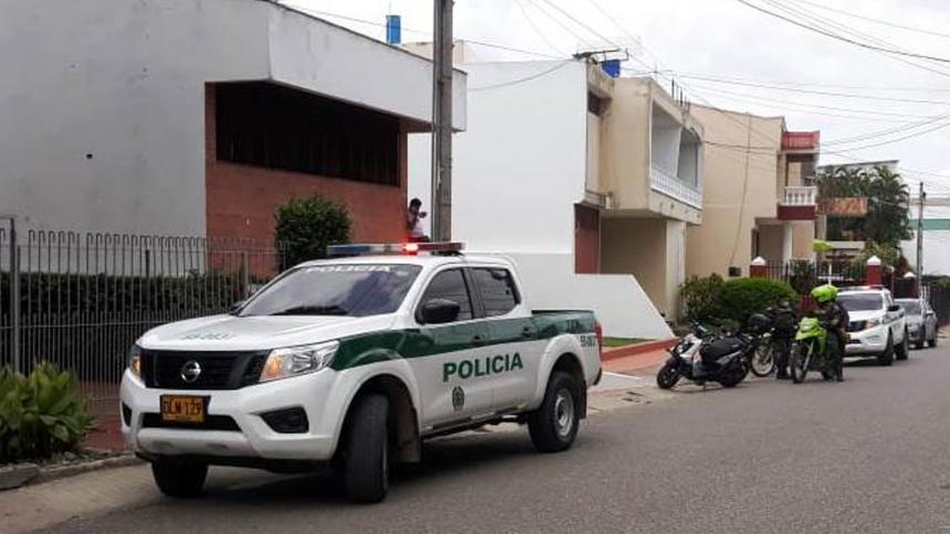 Falsos vacunadores roban en una casa en Sincelejo