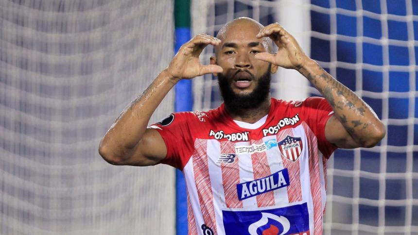 Los goles de Junior ante Bolívar