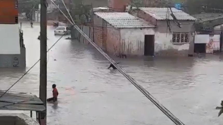 Joven murió ahogado durante fuertes lluvias en Cartagena