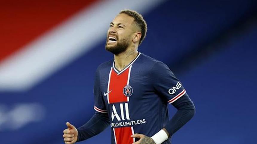 Neymar fue elegido el mejor jugador de la semana de la Champions