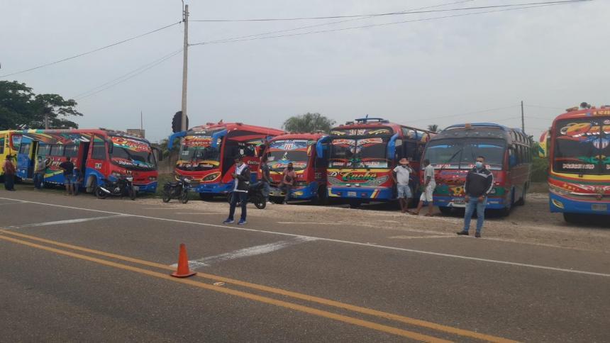 Transportadores, preocupados por el flujo de pasajeros