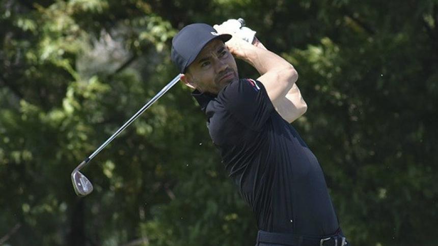 Camilo Villegas no tuvo un buen cierre del torneo RBC Heritage