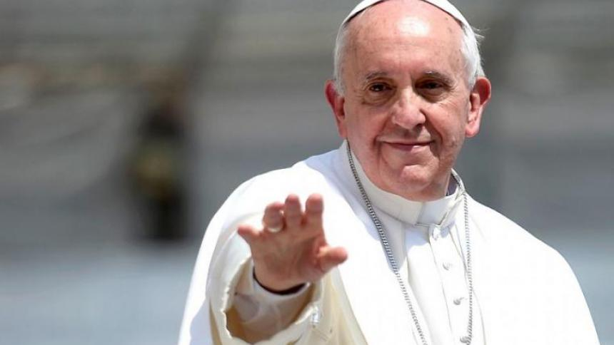 Papa Francisco  hace donación a Colombia para atender la pandemia
