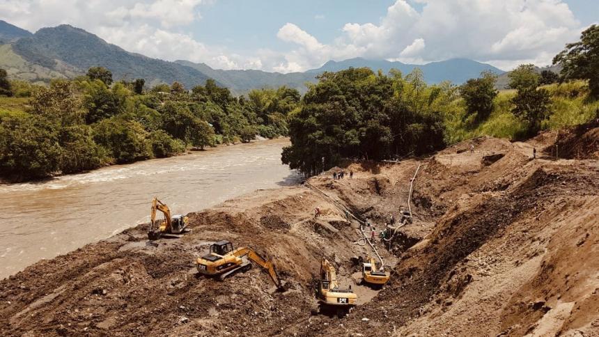 Rescatan 11 cadáveres de mineros atrapados en Caldas