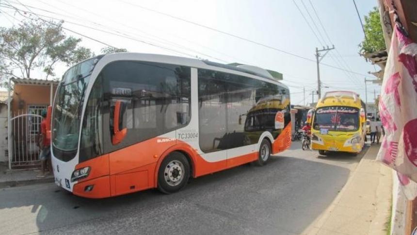 Pasajes gratis en Transcaribe por suspensión de recaudos