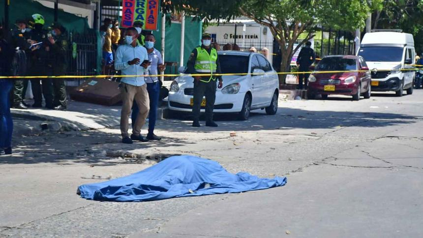 Asesinan a norteamericano en el barrio Las Palmas, de Barranquilla