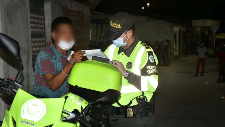 Las localidades con más comparendos en Barranquilla