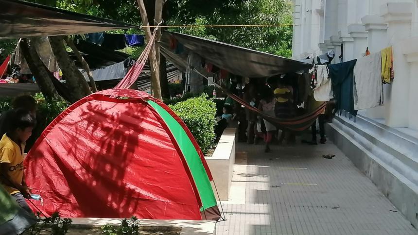 Acompañamiento para indígenas desplazadas en Montería