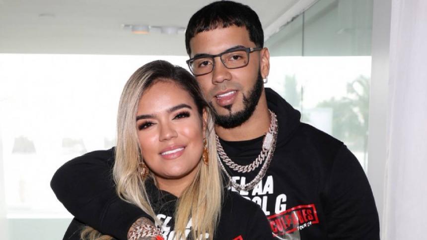 Karol G  y Anuel AA confirman fin de su relación