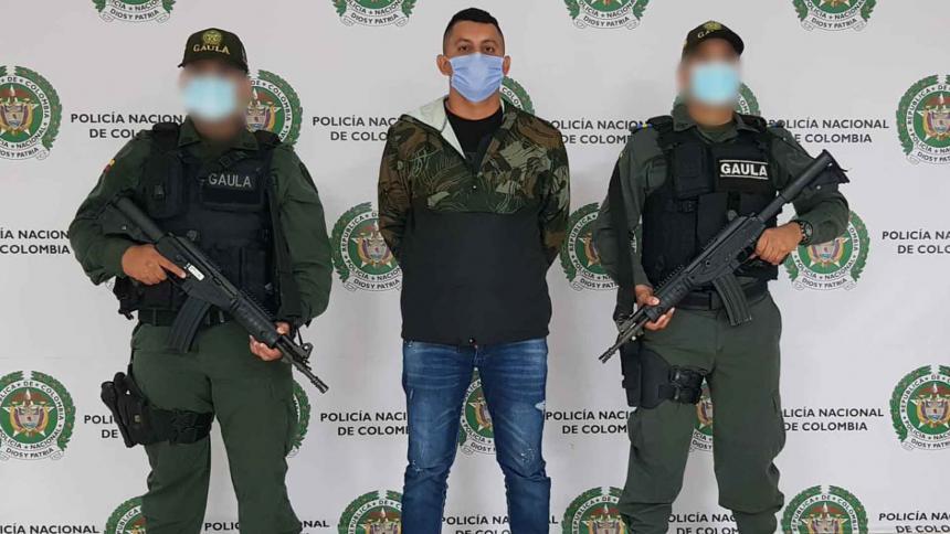 Capturan en Córdoba a presunto cabecilla financiero del 'Clan del Golfo'