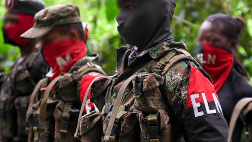 ELN propone que observadores verifiquen su ausencia de lazos con narcotráfico