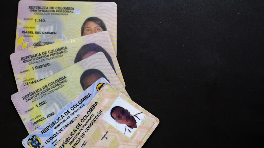 Desmantelan red que falsificaba documentos
