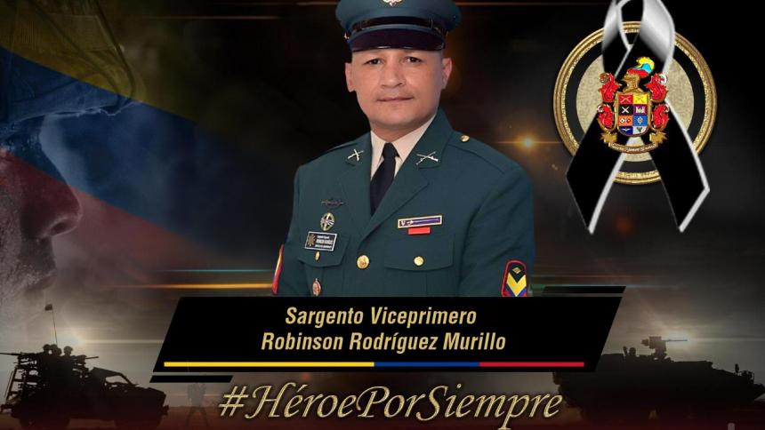 Asesinan a sargento en Aarauca