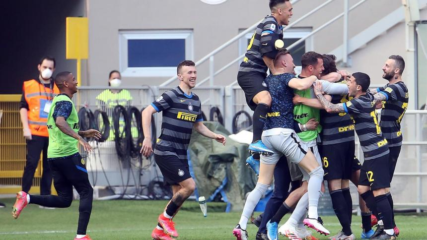 Inter de Milán derrotó al Hellas Verona