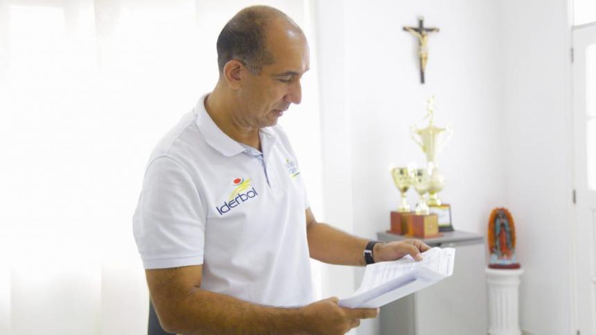 Exalcalde de Magangué Pedro Alí es el nuevo director de Iderbol