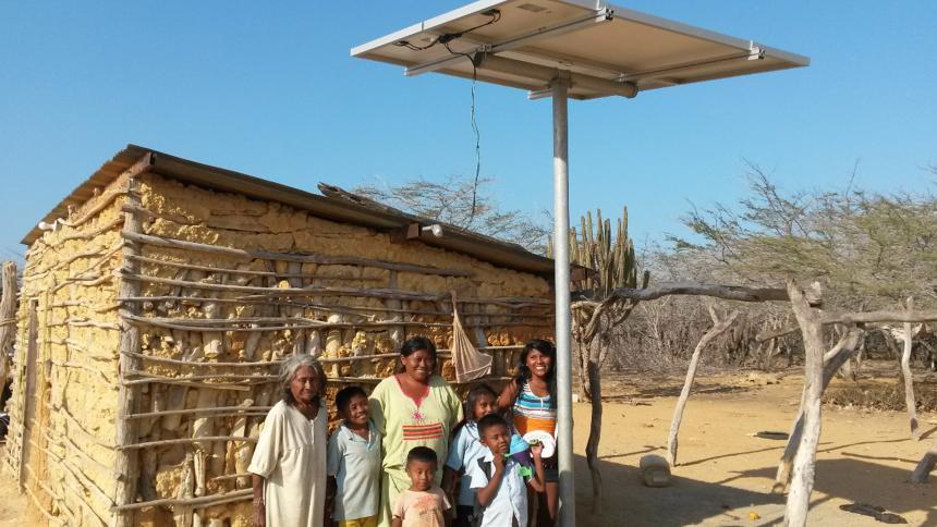 En La Guajira se realizó diplomado sobre energías renovables