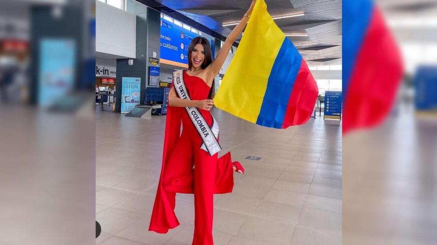 Laura Olascuaga ya va rumbo a Estados Unidos para el Miss Universo