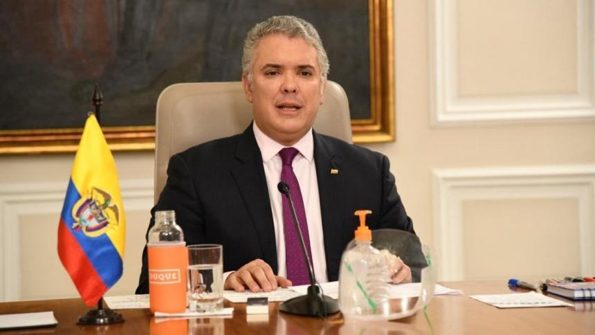 Presidente duque propone un nuevo texto de reforma tributaria