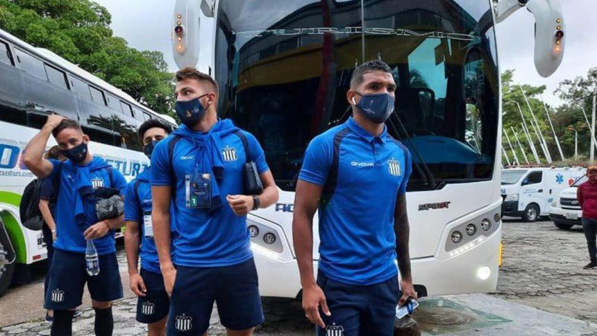 Talleres de Córdoba, varado en Cali por protestas