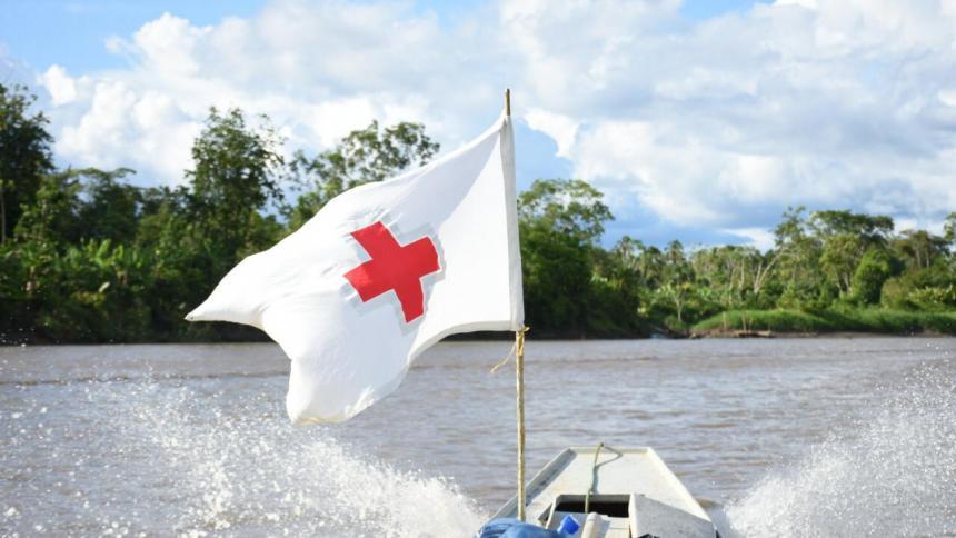 Cruz Roja insiste en el respeto al emblema de la Misión Médica