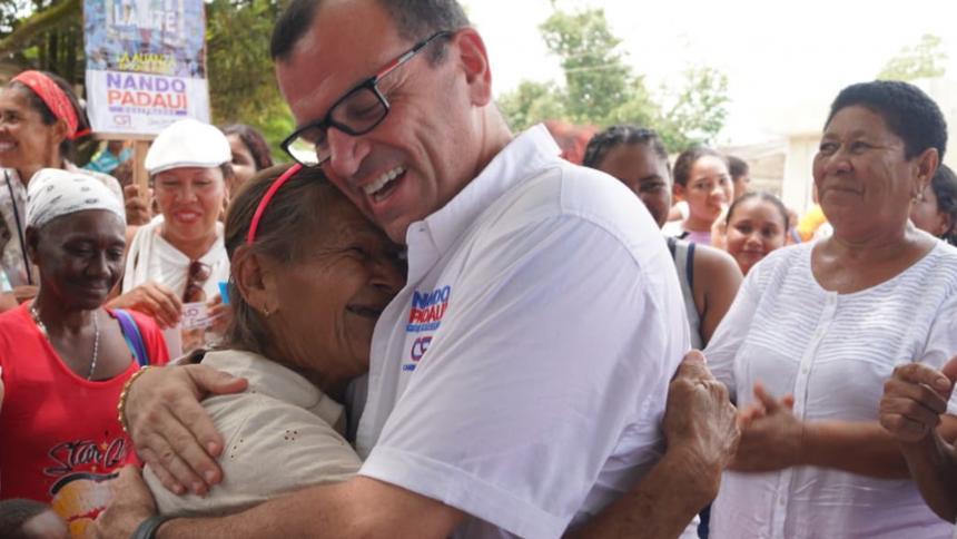 Murió por covid diputado bolivarense Hernando Padaui