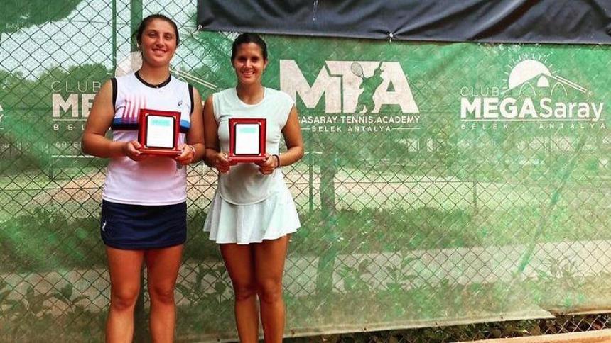 María Paulina Pérez gana título de dobles en Antalya W15 Turquía