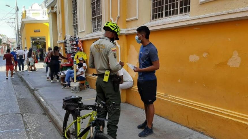 Extienden hasta el 10 de mayo medidas para mitigar covid-19 en Cartagena