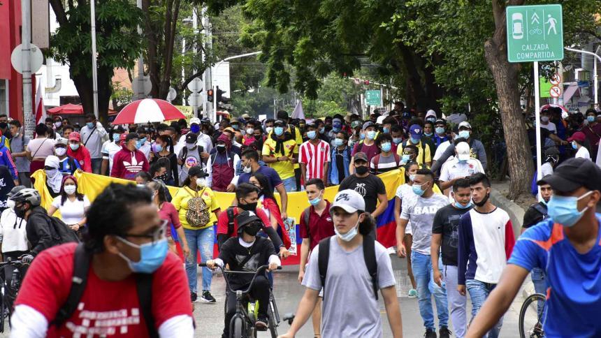 Fortalecen vigilancia epidemiológica por marchas en Barranquilla