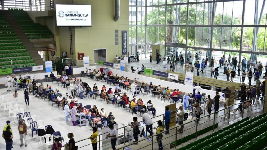 Con 13 mil dosis en dos días, vacunación en Barranquilla marca récord