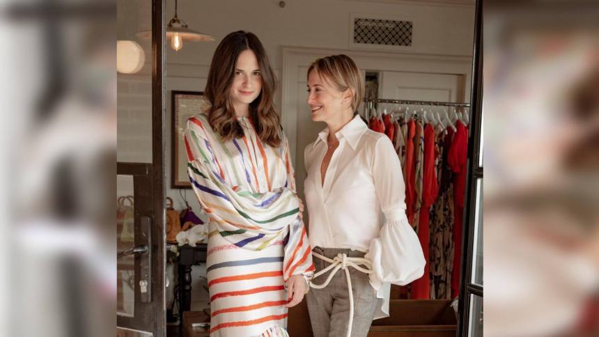 Forbes destaca la relación de Silvia Tcherassi con su hija