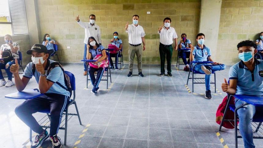 Convocan a retomar la alternancia educativa en Sincelejo