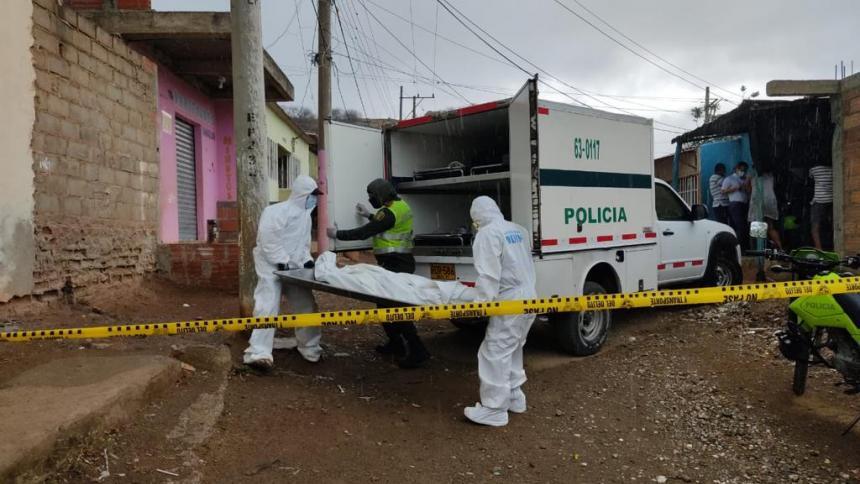 Asesinan a tiros a un hombre en una casa en Santa Marta