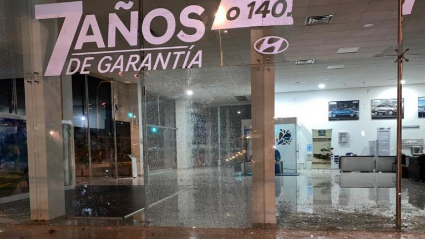 Vandalizan Cai de la Policía y establecimientos de comercio en Cereté