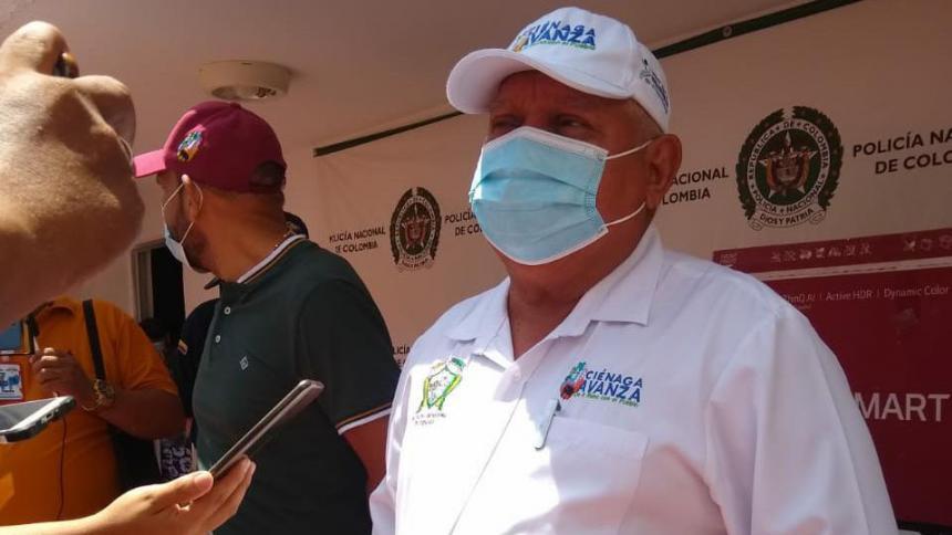 Alcalde de Ciénaga pide que devuelvan artículos robados