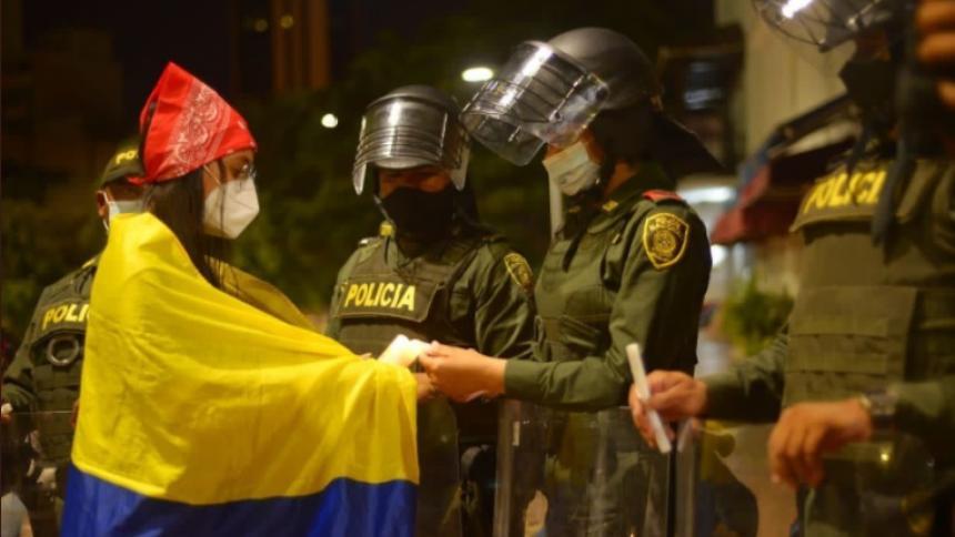 """""""Cartagena ha dado ejemplo de marchar de manera pacífica"""": Dau"""