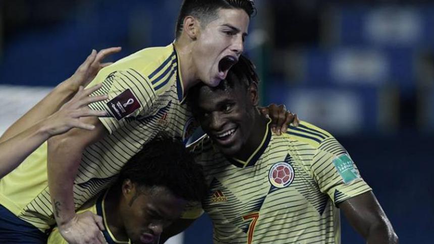 Este es el horario para partidos de Colombia ante Perú y Argentina por Eliminatorias