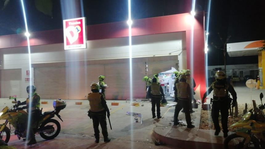El balance de los desmanes en el sur de Barranquilla